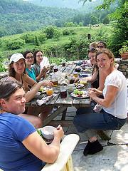 farm tour lunch
