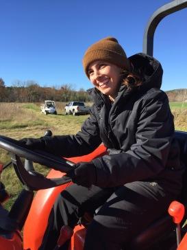 Rachel on tractor.jpeg